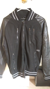 Leather jacket men's size M Currambine Joondalup Area Preview