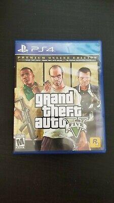 Grand Theft Auto V (Sony PlayStation 4, 2014) GTA PS4