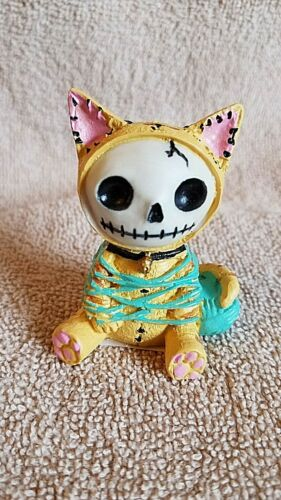 FURRYBONES Mao Mao the Cat Figurine Skull in Costume New Collect Free Shipping