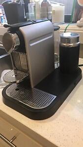 Nespresso citz & milk coffee pod machine Beverley Park Kogarah Area Preview