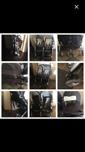 Combi Twin Stroller $40 FIRM ABSOLUTELY NO HOLDS