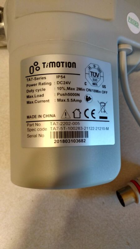 Timotion TA7-2202-005 Actuator