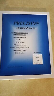 100 sheets Precision Overhead Transparency Film  overhead projector 4MIL Thick