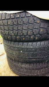 4 studded winter tires and 2 all seasons SOLD