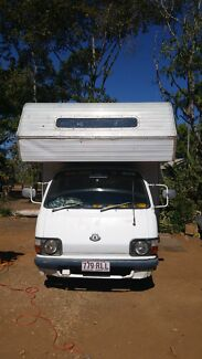 Toyota hiace motorhome Menzies Mt Isa City Preview