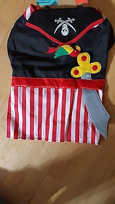 Old Navy Pirate Dog Costume size Medium/Large Free Shipping in the USA (Old Navy Pirate Costume)