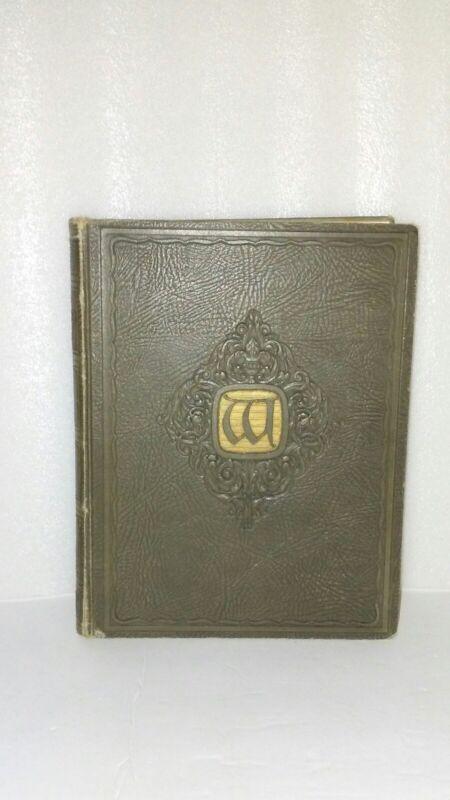 1927 Wisconsin Badgers Yearbook Rare