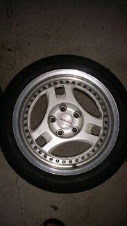 "Advan Tri Spoke Rims & Tyres 16"" x 114.3 Bellevue Hill Eastern Suburbs Preview"