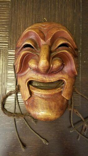 Hand Carved Korean Mask
