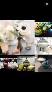 100% natural vintage soy/coconut hand poured candles