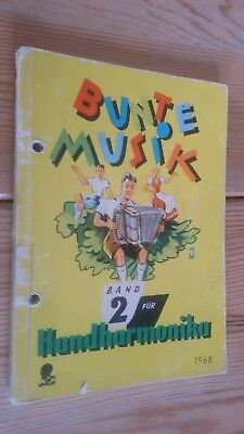 xex   Bunte Musik, Band 2 für Handharmonika, Noten, akzeptabel ()