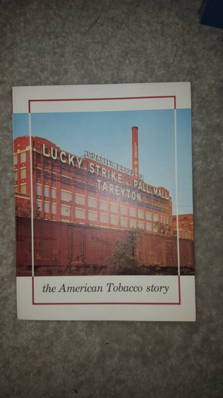 The American Tobacco Story 1962, Vintage, No tears or stains, free shipping.