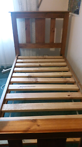 Baltic pine single bed Holden Hill Tea Tree Gully Area Preview