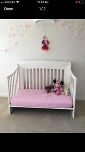 Crib for baby 4 in 1