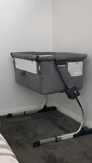 Wanted: Childcare Cosy Time Co Sleeper Baby Bassinet Strom Cloud
