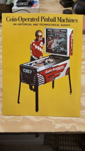 Coin Operated Pinball Machines an Historical and Technological Survey Book