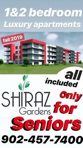 Pre Lease NOW - Only for Seniors 2 bedroom and 1 bedroom