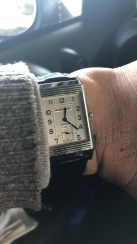 Jaeger Lecoultre 270.8.54 Reverso Classic Silver Dial Men's Mechanical Watch - watch picture 1