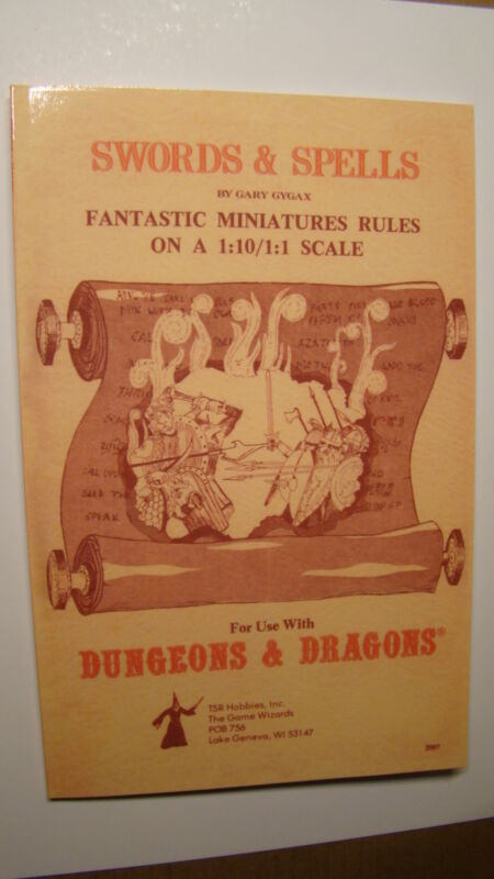 DUNGEONS DRAGONS - SWORDS SPELLS *NEW NM/MT 9.8 NEW MINT* CHAINMAIL