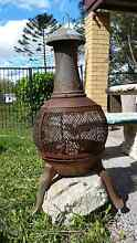 Chiminea Patio Wood Heater Burpengary Caboolture Area Preview