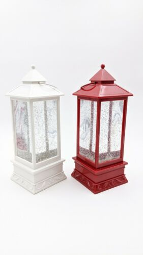Christmas Snow Lantern; Simple No Scene; Battery Operated