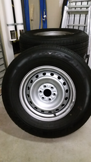 New wheels and tyres for Navara