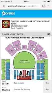 3 Guns and roses tickets for Feb 7 Brisbane concert Calliope Gladstone Surrounds Preview