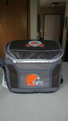 dc4b5913 2018 Cleveland Browns Season Ticket Holder Gift - Coleman Cooler Bag NEW in  pack