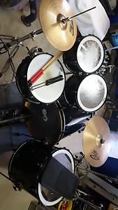 Drum Set / Kit   For Sale Paiste/Pearl/Tama Gibraltar Fairfield Fairfield Area Preview