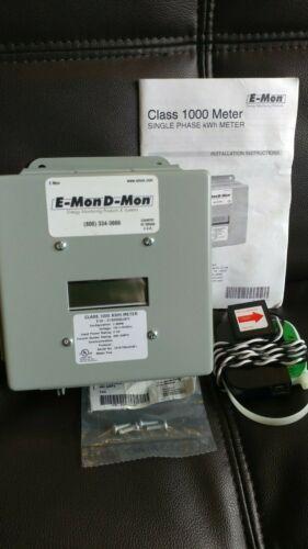 E-Mon D-Mon E10-2120200-JKIT Single Phase 200 Amp KWH Meter Class 1000 Emon Dmon