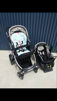 Steelcraft Cruiser Pram and Steelcraft Capsule Combo Mornington Clarence Area Preview