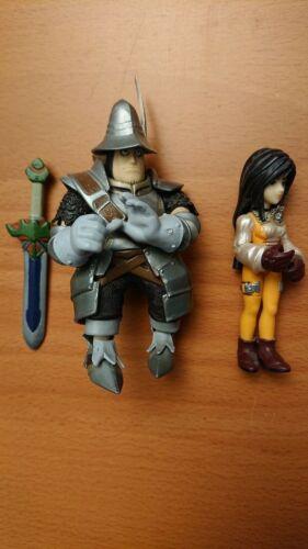 BANDAI Final Fantasy IX 9 Extra Soldier Figure 2 - Steiner Adelbert & Garnet
