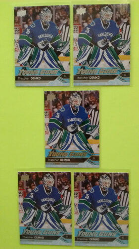 Lot Of 5 Ud 2016-17 Young Guns Yg Rookie Rc Upick