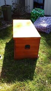 Used timber blanket box Engadine Sutherland Area Preview