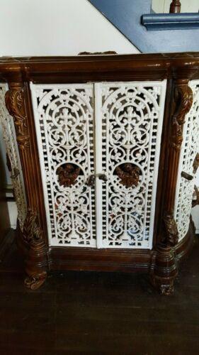 Antique French Enamel Cast Iron Stove GODIN