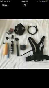 GoPro hero and accessories