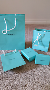 Tiffany and Co boxes and gift bags Dandenong Greater Dandenong Preview