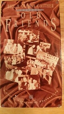 VHS Bill and Gloria Gaither present Old Friends Video Tape for sale  Kannapolis