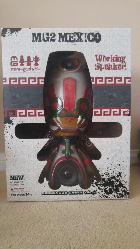 "Marka27 Mexico MiniGod MG2 17"" Vinyl Figure Speaker 2007"