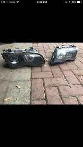 2000-2003 BMW E46 2 Door Headlights