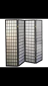 4panel shoji screen (room divider) $129