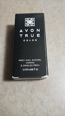 *ROYAL RED* NAIL POLISH NAIL ENAMEL Avon True Color PRO+ Nails Polish New Boxed