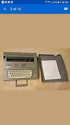 30039 Smith Corona Sl 500 Electric Portable Typewriter W Cover  Nice