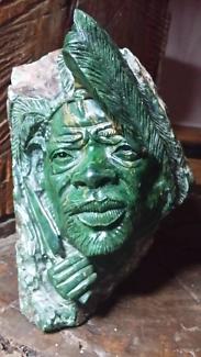 John Chihowa Verdite Carving. Gallery worthy