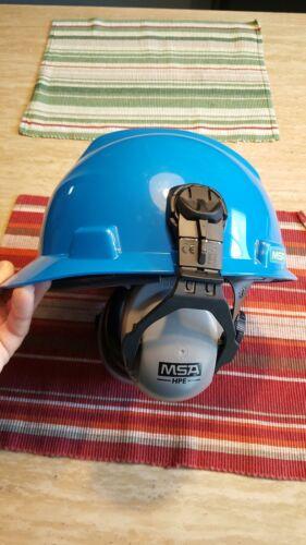 MSA Hard Hat Mounted Ear Muff Noise Reduction 27dB