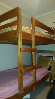 Solid Pine bunk beds Taggerty Murrindindi Area Preview