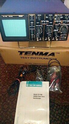 Tenma 72-740 40mhz Oscilloscope