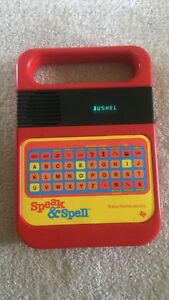 Speak and Spell Texas Instruments 1980 vintage Working