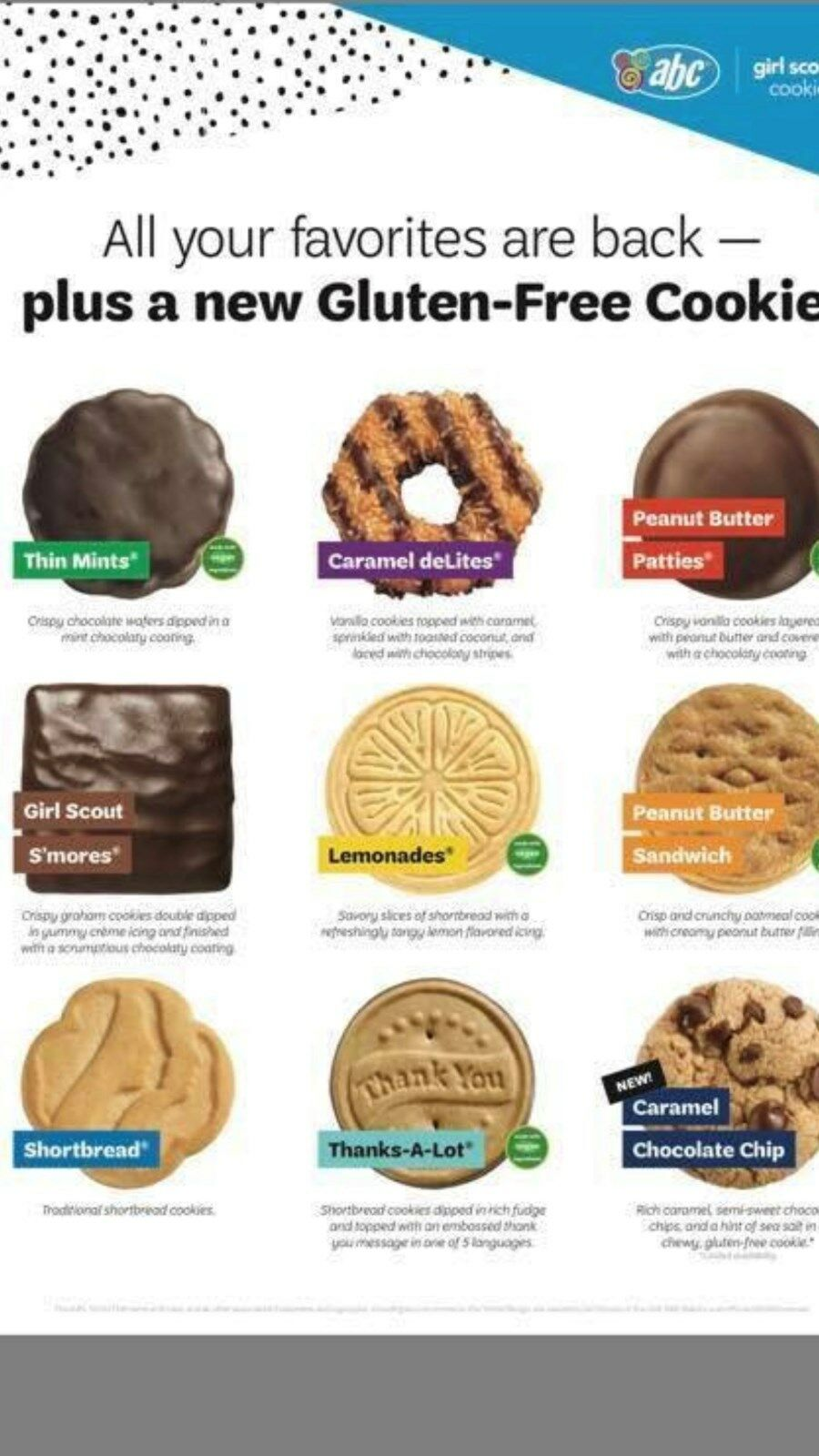 peanut butter girl scout cookie