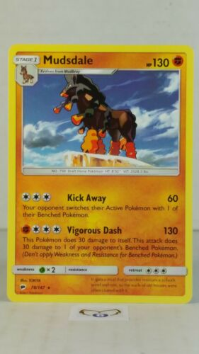 Mudsdale 106//202 Rare NM Pokemon TCG Card